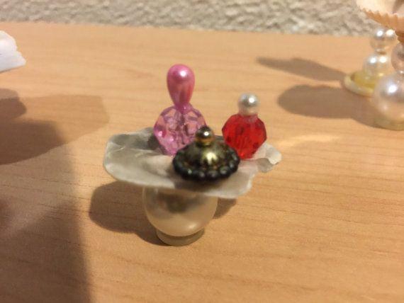 Miniature Seashell Bathroom Set Seashell Bathtub by MyFairyPatch