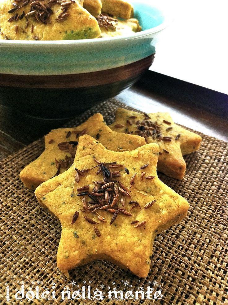 Intermezzi salati: Biscotti speziati al curry