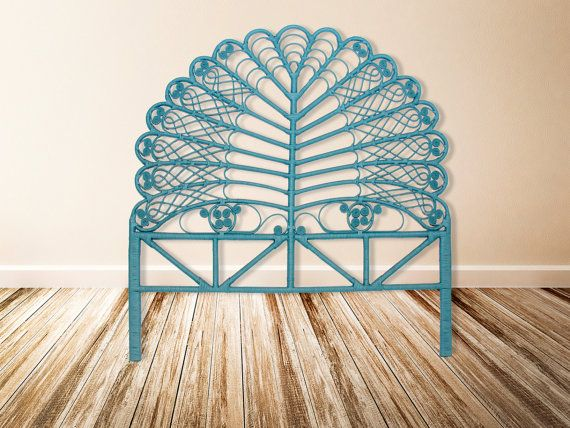 Guest Bed Twin Peacock Headboards