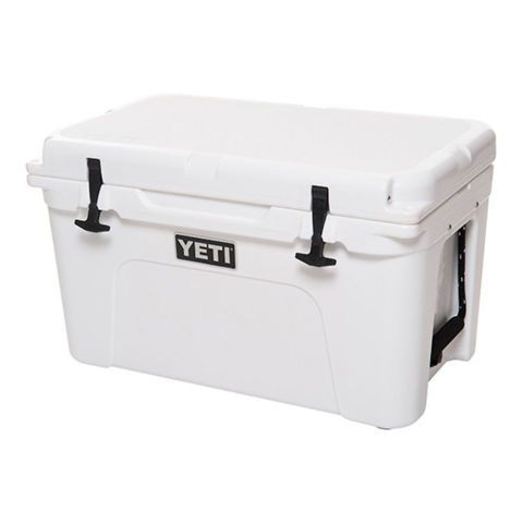 $350 BUY NOW  Trust us — YETI is actually worth all the hype. Just one bag of ice will keep your food and drink cold for days! Feeling lazy? You can leave this cooler outside in Yellowstone National Park — these coolers are grizzly-proof. It comes in a variety of sizes and colors, and it even has a 5-year warranty. This beast is totally worth the investment!  More: Best Beverage Coolers in the Business