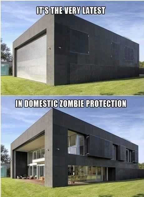 WINIdeas, Zombies Proof House, Zombies Apocalypse, Dreams Home, Walks Dead, Zombie Proof House, Zombies Protective, Dreams House, Zombie Apocalypse