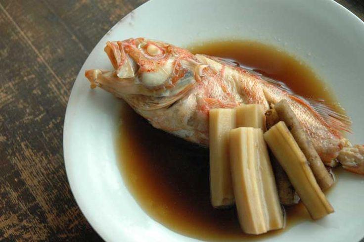 魚の煮付けの基本のレシピ/作り方 ©白ごはん.com