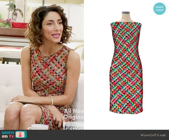 Delia's checked sleeveless dress on Girlfriends Guide to Divorce.  Outfit Details: https://wornontv.net/65744/ #GG2D