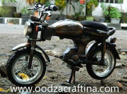 miniature classical motorbike miniature