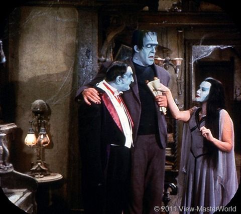 View-Master The Munsters (B481), Scene 4