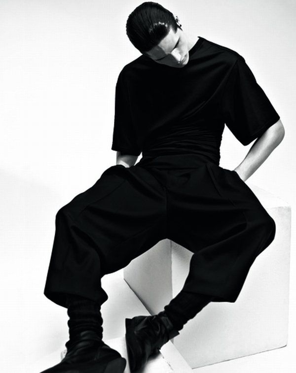 diorhomme10men4 10 Men Editorial | Dior Homme: Kris Van Assche & His Mood Board by Mark Pillai