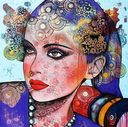 Brisbane, Australia artist Sarah Hickey