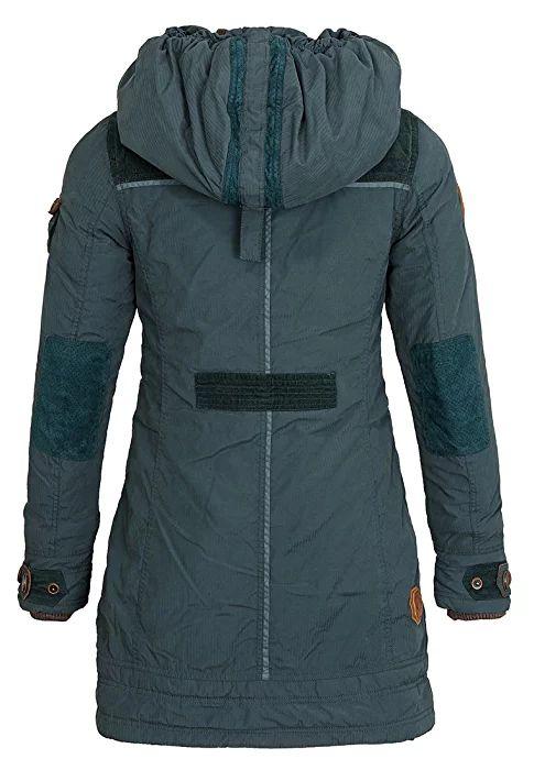 Naketano Women's Jacket A Woman Will Rise Up (XS, Dark Green)