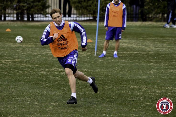 Lucas Biglia   Second @Argentina training session @georgetownhoyas #TOCA #PLAYsimple #GiraPorEEUU @LucasBiglia6