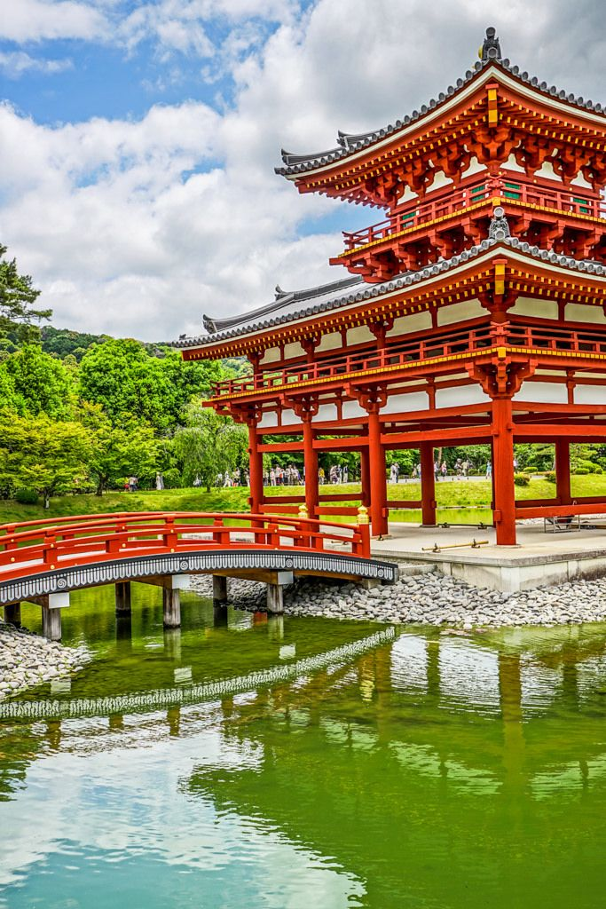 """Byodoin Temple (平等院) in Oridai 3 Chome, Uji-shi (宇治), Kyoto Prefecture (京都)_ Japan 