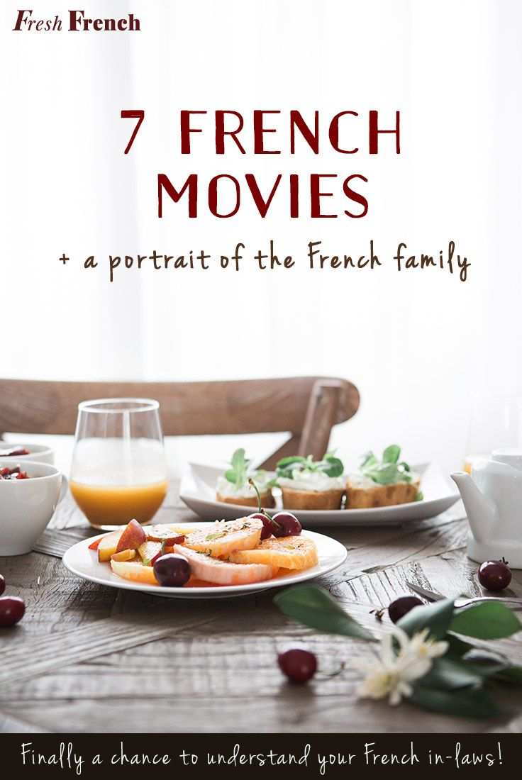 I'd like to share with you a list of 7 movies that I recommend watching to understand what goes on in different kinds of families around France. Some stories are light and others are terribly sad but all of them are precious portraits of a French family.