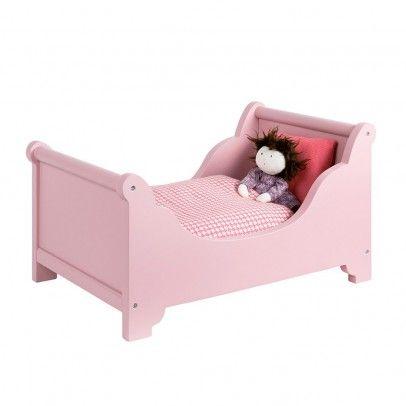 Lit de poupée avec parure de lit  Moulin Roty