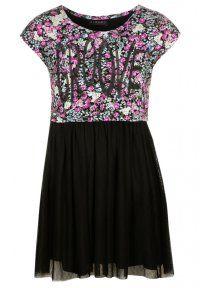 Sisley - Jerseyjurk - black/multicolor