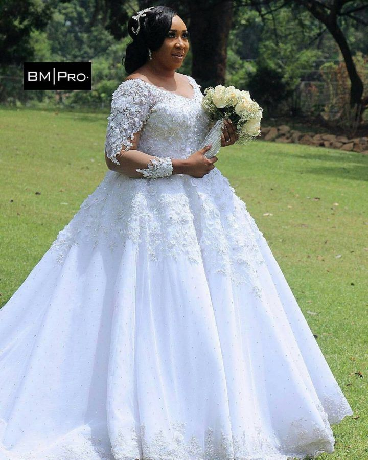 It's not a coincidence that all the princesses you've read about all got married in a beautiful ball gown wedding dress. This is an elegant bridal design that instantly makes you feel gorgeous and truly flatters your unique shape in all the right places. Fitted throughout the bodice, these ball gowns flourish into a princess-worthy skirt of sumptuous fabric that'll make you look stunning on the dance floor. What's most enchanting about this curated collection of ball gown wedding dresses is…
