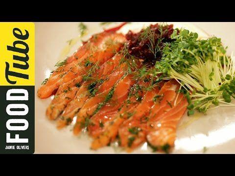 Super Quick Salmon Gravadlax | Fish Recipes | Jamie Oliver