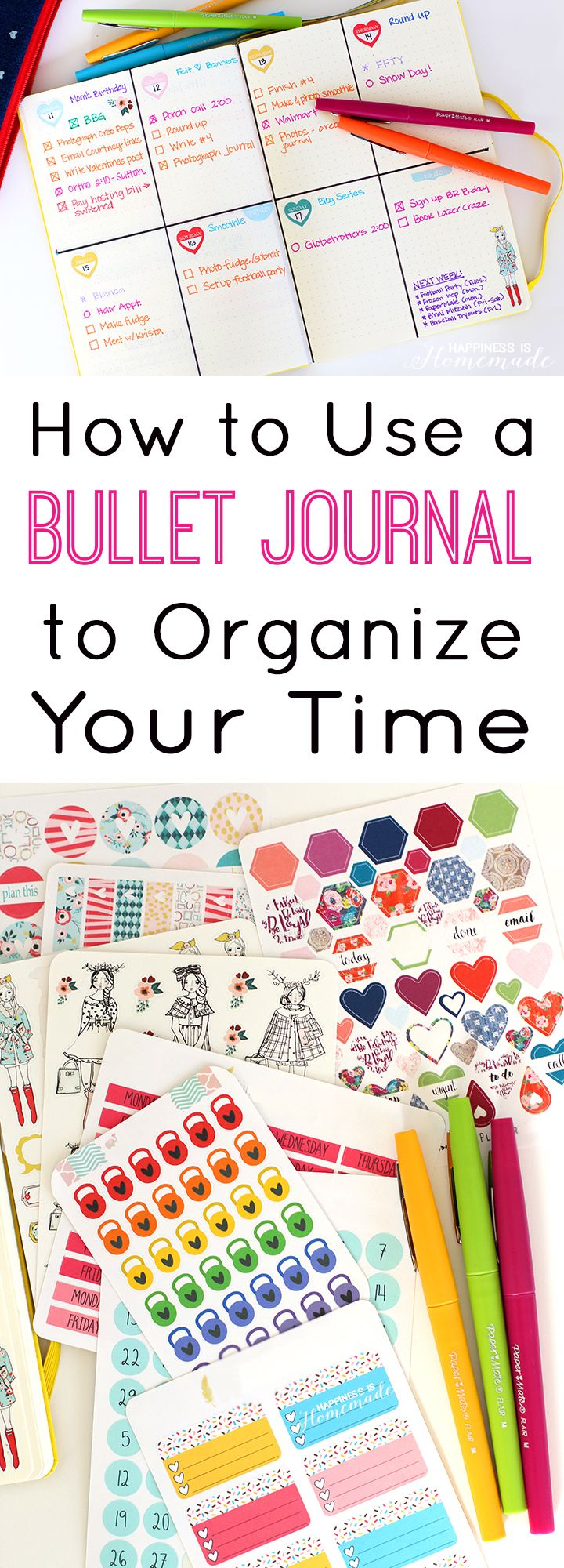 Organize Your Life with Bullet Journaling