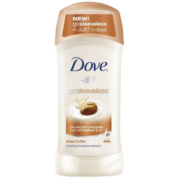 Amazon.com: Dove Go Sleeveless Anti-perspirant Deodorant, Shea Butter... (725 MXN) ❤ liked on Polyvore featuring beauty products, bath & body products, deodorant, antiperspirant and deodorant, antiperspirant deodorant, anti perspirant deodorant and anti perspirant and deodorant