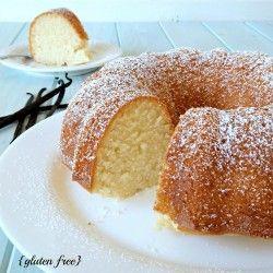 Gluten Free Vanilla Bundt Cake from Faithfully Gluten Free