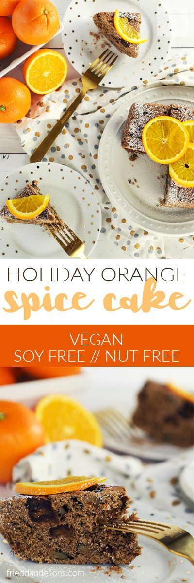 Make a Holiday Orange Spice Cake in the Instant Po…