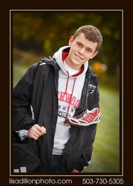 cross country running senior picture ideas | Cross Country Pose