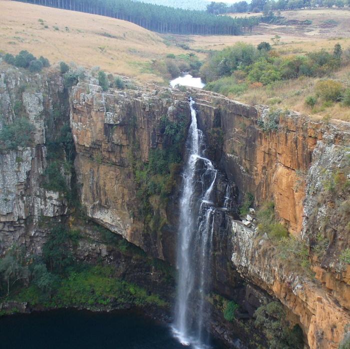 Berlin Falls outside Sabie (Mpumalanga)