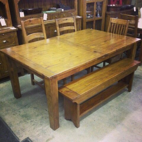 Solid reclaimed pine wood furniture! Benches, chairs, stools, buffets,  hatches,