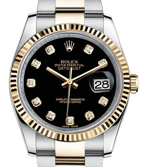 Rolex 116233 bkdo Datejust Steel and Yellow Gold. #rolex