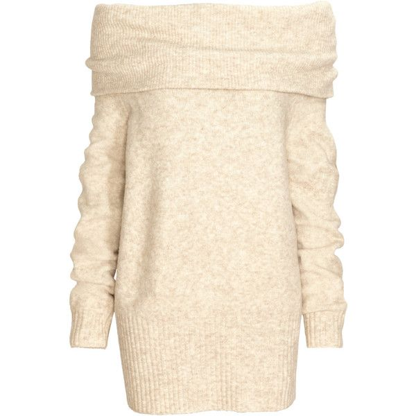H m white dress jumper