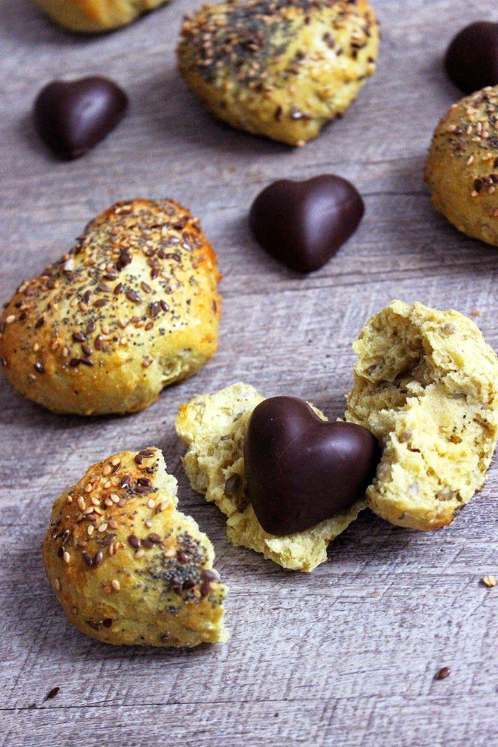 Blog Cuisine & DIY Bordeaux - Bonjour Darling - Anne-Laure: ♥ Petits pains de Saint Valentin ♥