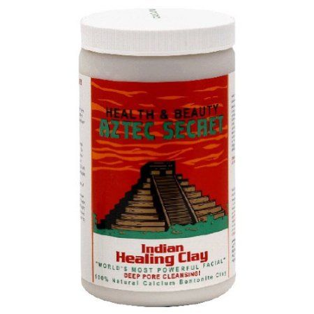 Aztec Secret Indian Healing Clay (Calcium Bentonite Clay):  Mix with Apple Cider Vinegar for an awesome deep cleansing facial mask.  Also great for detoxing by using in a bath or foot soak.