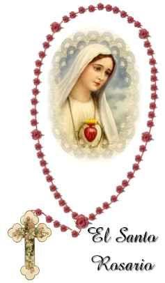 SANTO ROSARIO: Promesas de la Virgen a los devotos del Santo Rosario
