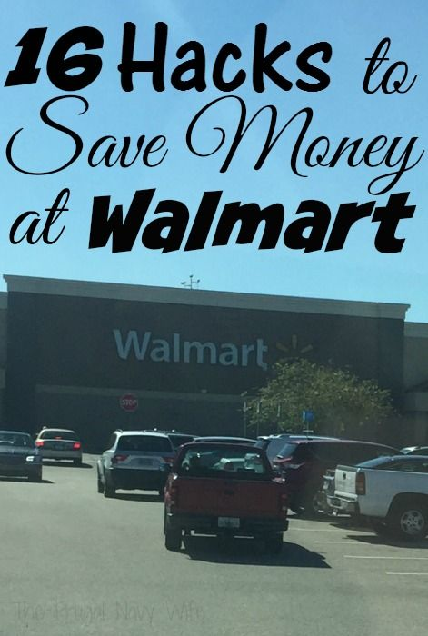 16 Off the Wall Ways to Save Money at Walmart - looking for ways to save money shopping at Walmart? We ahve 16 of them and I bet you haven't heard of at least 2 of these!