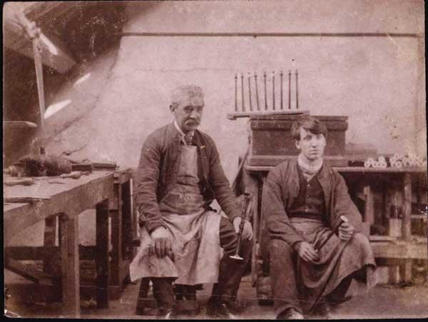 .Alexander and David Glen, circa 1873