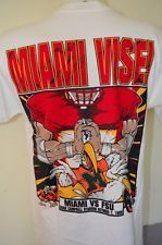 FSU VS MIAMI Florida College Football USA MADE VTG 90s 1995 MEDIUM M T-SHIRT
