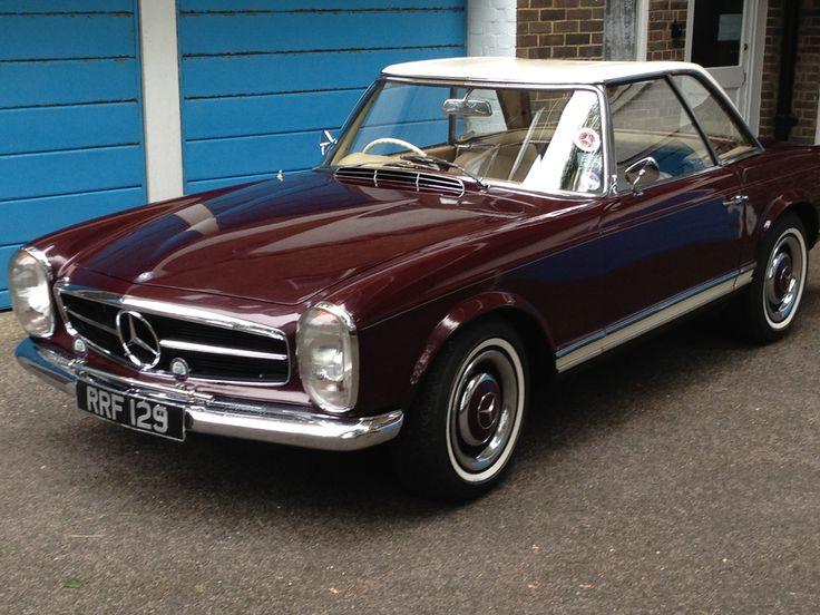 1964 mercedes benz 230sl pagoda automatic mercedes for 1964 mercedes benz 230sl