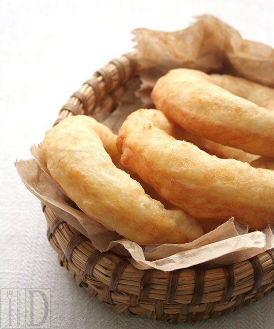 Cullurielli (Potato Donuts) -- interesting