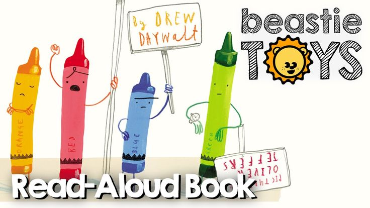 """Read-Aloud: """"The Day the Crayons Quit"""" by Drew Daywalt and Oliver Jeffer..."""