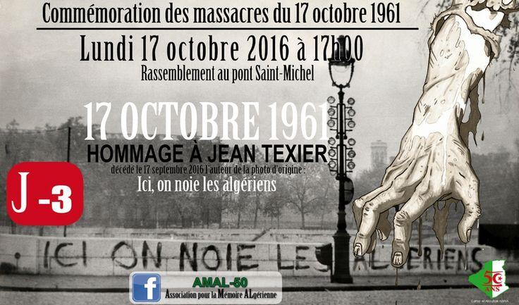 17 octobre 1961 les 55 ans