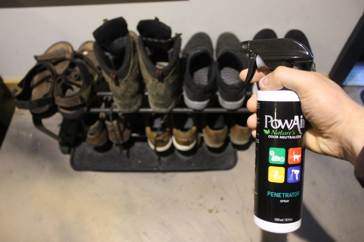 If your shoes smell give em a spray #GetOutside #NaturalProducts