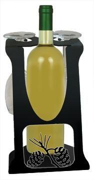 wine rack, wine holder, wine bottle holder, wine bottle and glass holder, wine glass rack