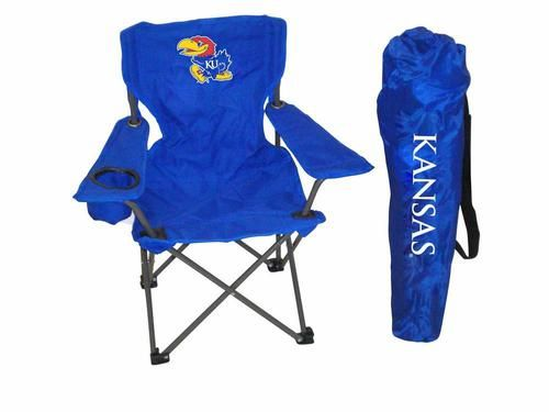 Kansas Jayhawks KU Kids Folding Chair Toddler Size