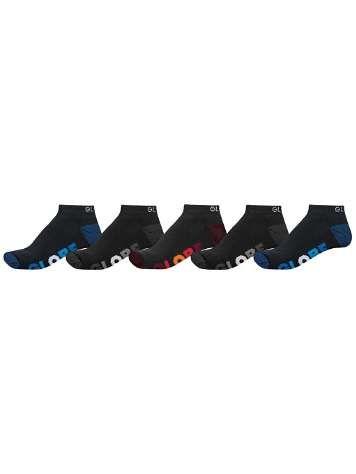 Globe Multi Stripe Ankle 7-11 Socks