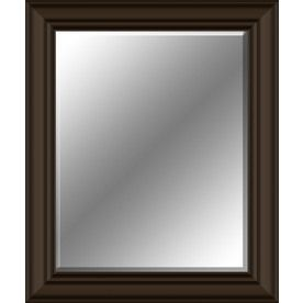 28 In X 34 In Oil Rubbed Bronze Rectangle Framed Wall