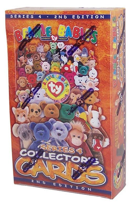 TY Beanie Babies Collectors Cards (BBOC) - Series 4 - Sealed Box (24 packs) -New #Ty