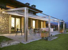 Ideas para pérgolas exteriores de aluminio