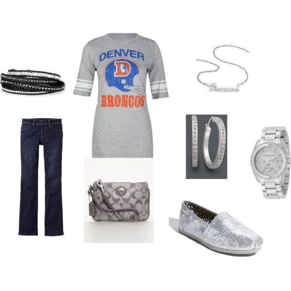 Outfit -- Denver Broncos: Fendi Purses, Workout Outfit, Broncos Denver Broncos Denver, Denverbroncos, Girly Stuff, Football Outfit, Broncos Repin, Denver Broncos Outfits