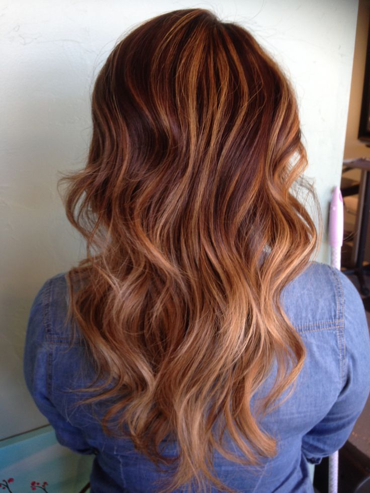 Caramel Balayage By Ashley Rembulat Ruskeat Hiukset Ja