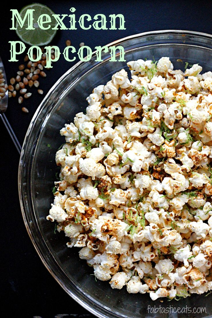 Mexican Popcorn..a fantastic kick to take your classic popcorn up a few notches!
