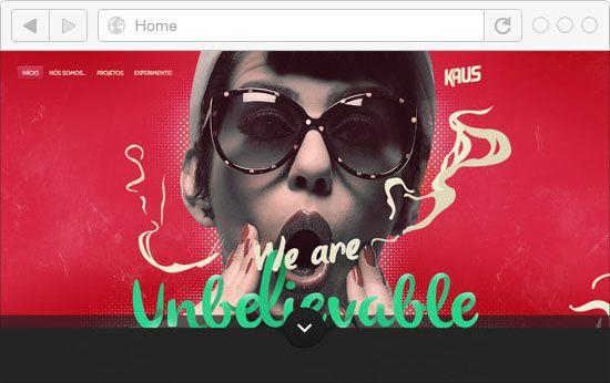 30 Best Portfolio Websites in Red Color | iBrandStudio