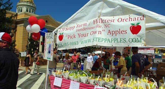 Hendersonville NC Apple Festival 2013